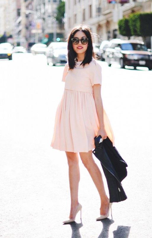 Picture Of trendy soft pink summer looks to recreate  3