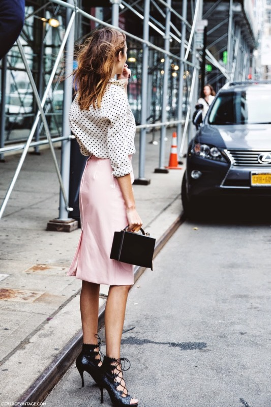 Picture Of trendy soft pink summer looks to recreate  4