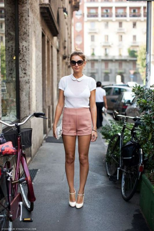Picture Of trendy soft pink summer looks to recreate  5