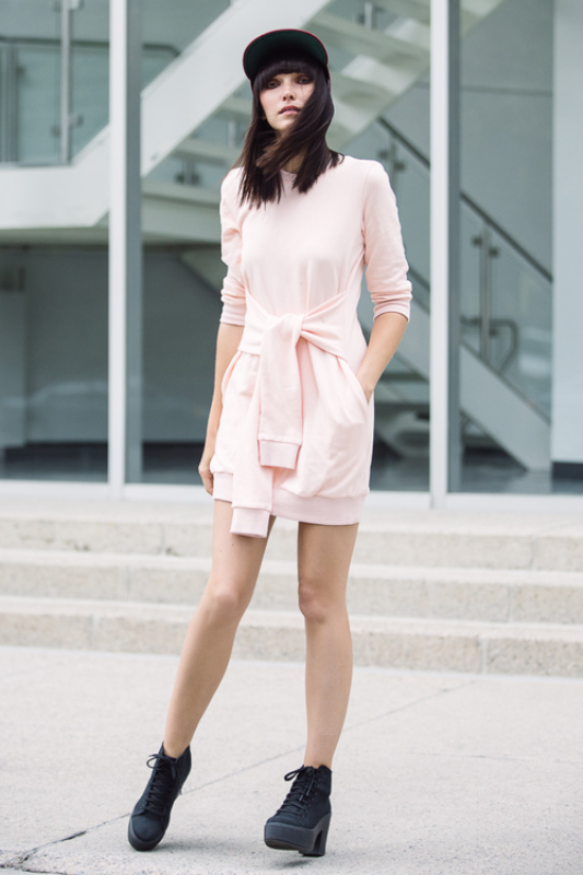 Picture Of trendy soft pink summer looks to recreate  6