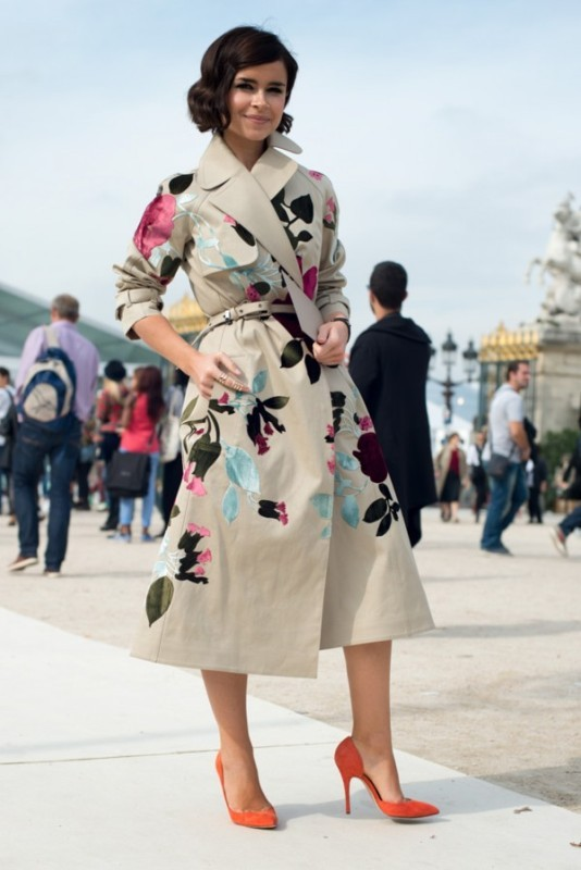 Picture Of amazing floral outfits to welcome the spring  1