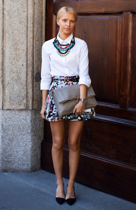Picture Of amazing floral outfits to welcome the spring  15