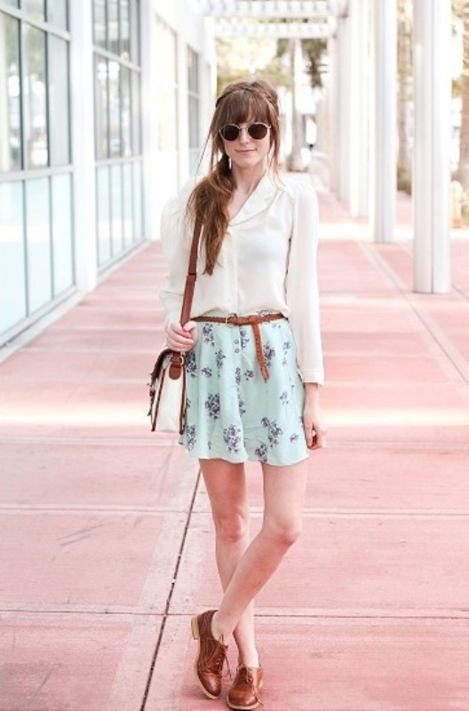 Picture Of amazing floral outfits to welcome the spring  20