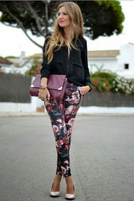 Picture Of amazing floral outfits to welcome the spring  24