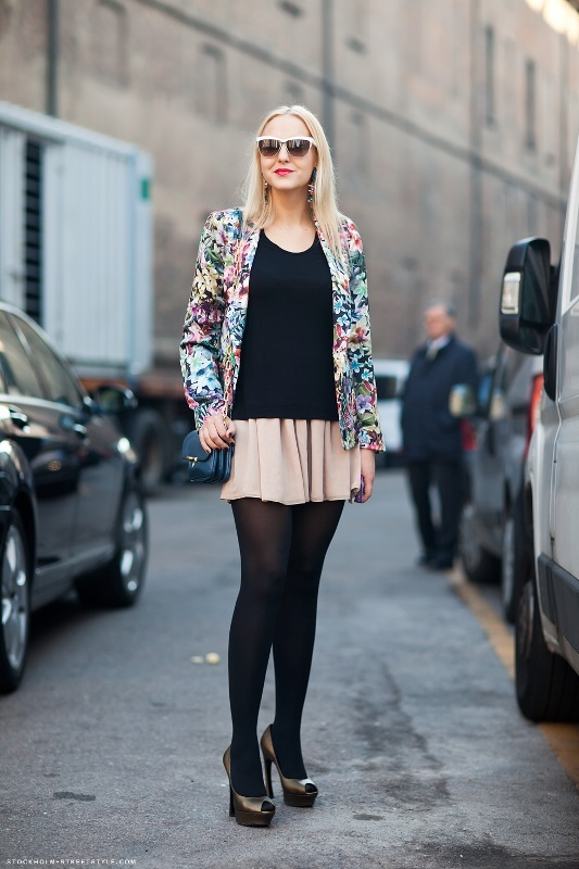 Picture Of amazing floral outfits to welcome the spring  7
