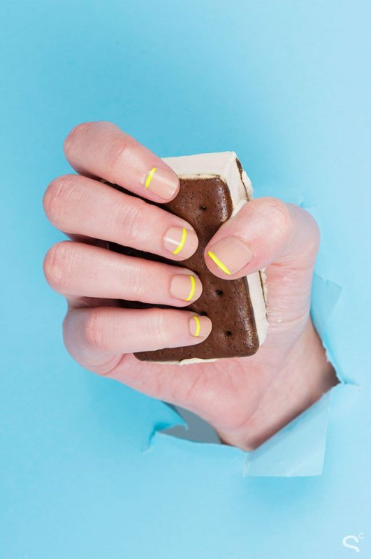 Picture Of cool nude nails that are nowhere near boring  1
