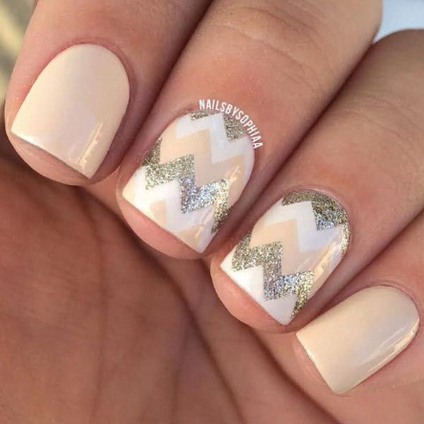 Picture Of cool nude nails that are nowhere near boring  14