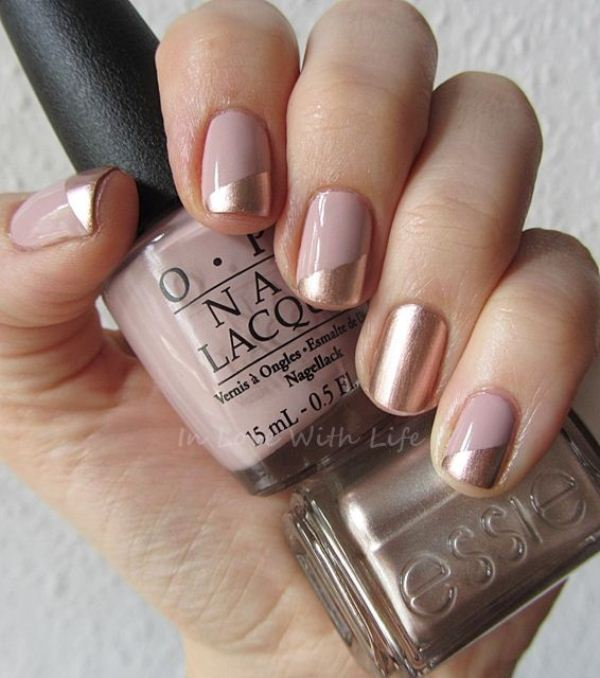 Picture Of cool nude nails that are nowhere near boring  15