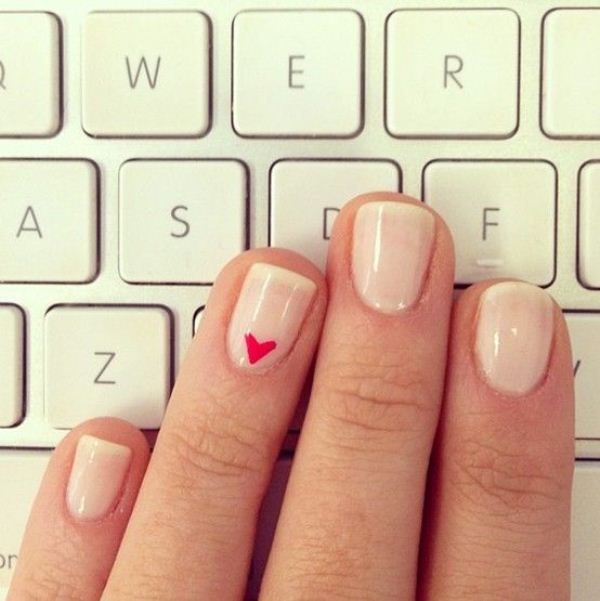 Picture Of cool nude nails that are nowhere near boring  16
