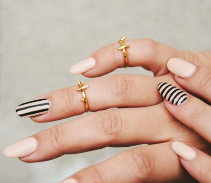 Picture Of cool nude nails that are nowhere near boring  17