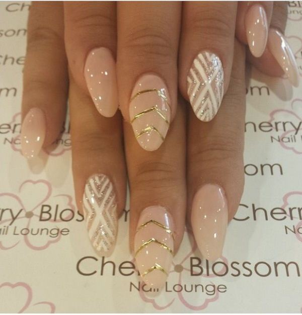 Picture Of cool nude nails that are nowhere near boring  22