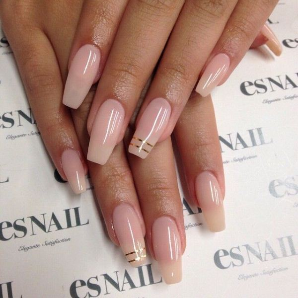 Picture Of cool nude nails that are nowhere near boring  24