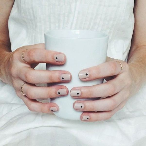Picture Of cool nude nails that are nowhere near boring  5