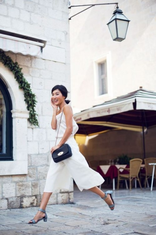 25 Fashionable And Trendy Ways To Wear Culottes This Spring