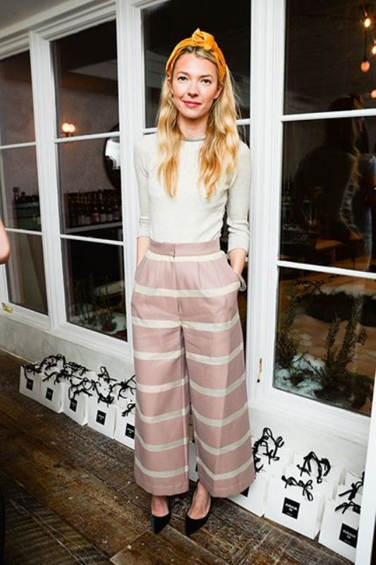 Picture Of fashionable and trendy ways to wear culottes this spring  10