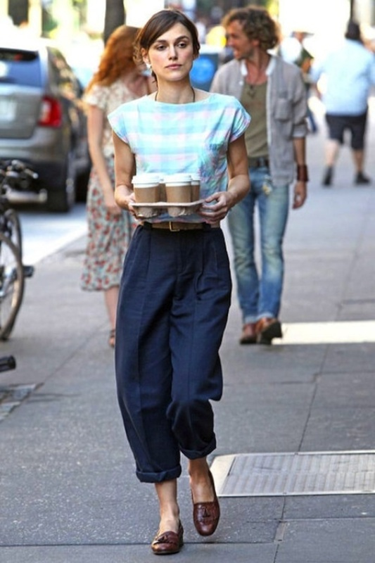 Picture Of fashionable and trendy ways to wear culottes this spring  12