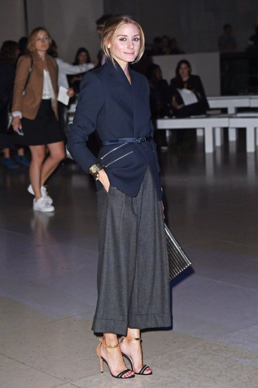 Picture Of fashionable and trendy ways to wear culottes this spring  16