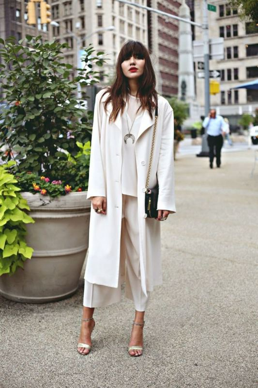 Picture Of fashionable and trendy ways to wear culottes this spring  19