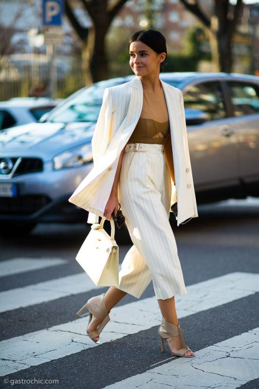 Picture Of fashionable and trendy ways to wear culottes this spring  4