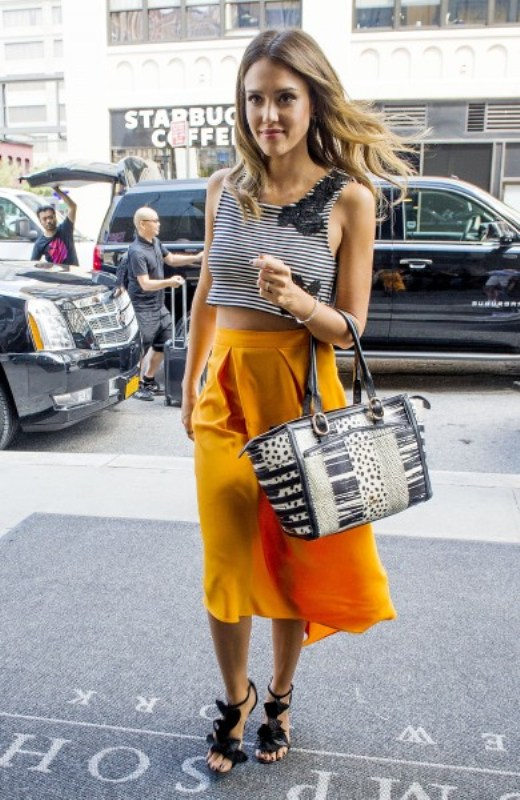 Picture Of fashionable and trendy ways to wear culottes this spring  6
