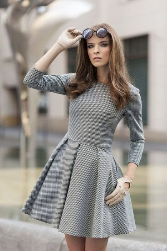 Picture Of shades of grey women office wear ideas  10