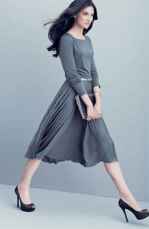 Picture Of shades of grey women office wear ideas  12