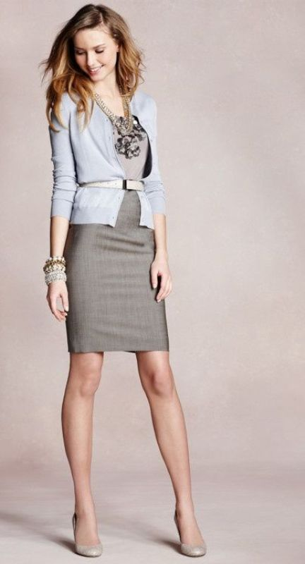 25 Shades Of Grey Women Office Wear Ideas