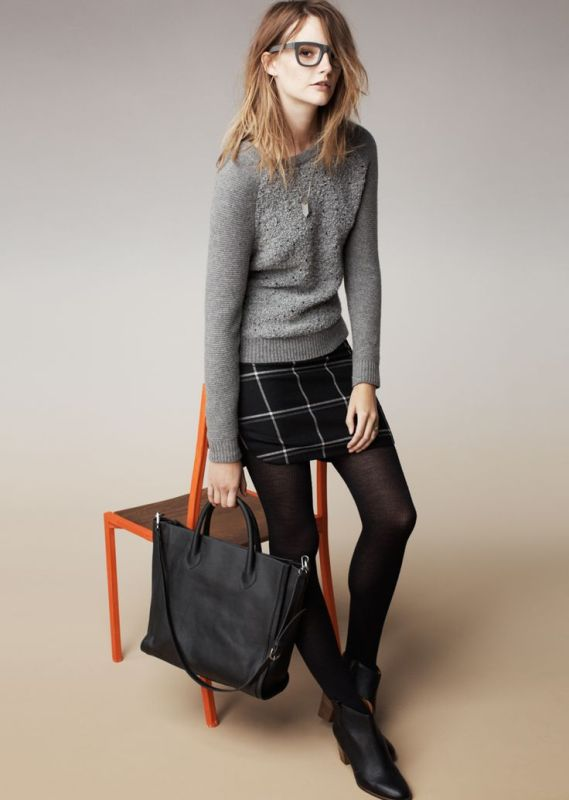 picture of shades of grey women office wear ideas 14