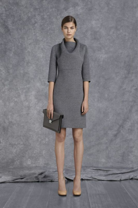 Picture Of shades of grey women office wear ideas  18