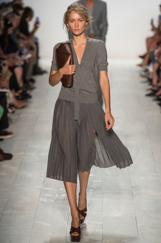 Picture Of shades of grey women office wear ideas  7