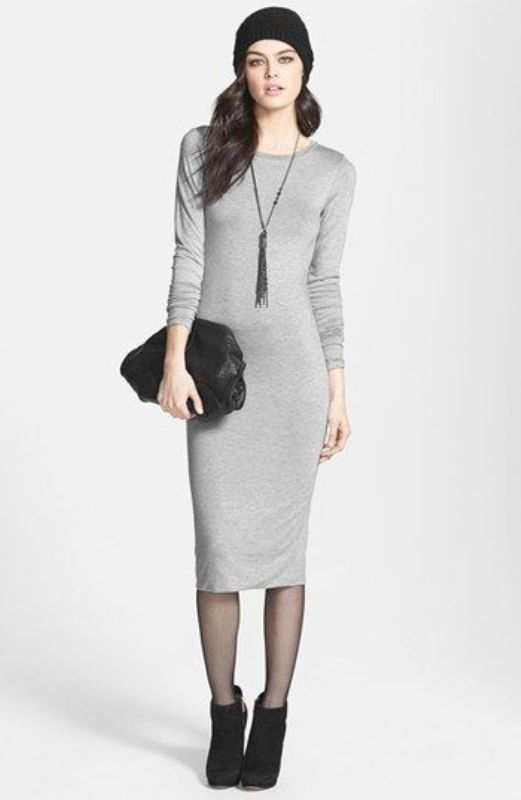 Picture Of shades of grey women office wear ideas  9