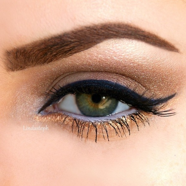 Picture Of gorgeous holiday makeup ideas to try  6