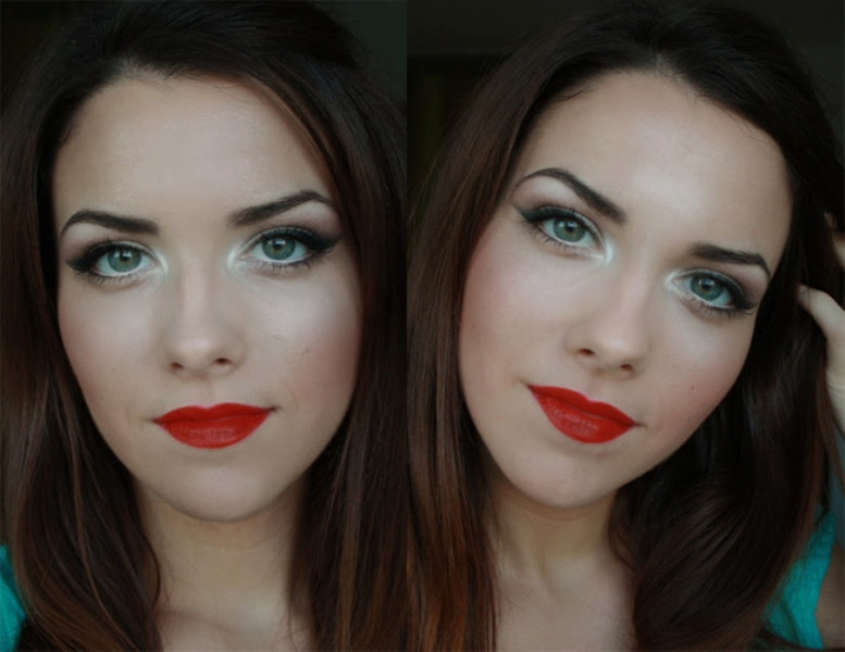 Picture Of gorgeous holiday makeup ideas to try  8