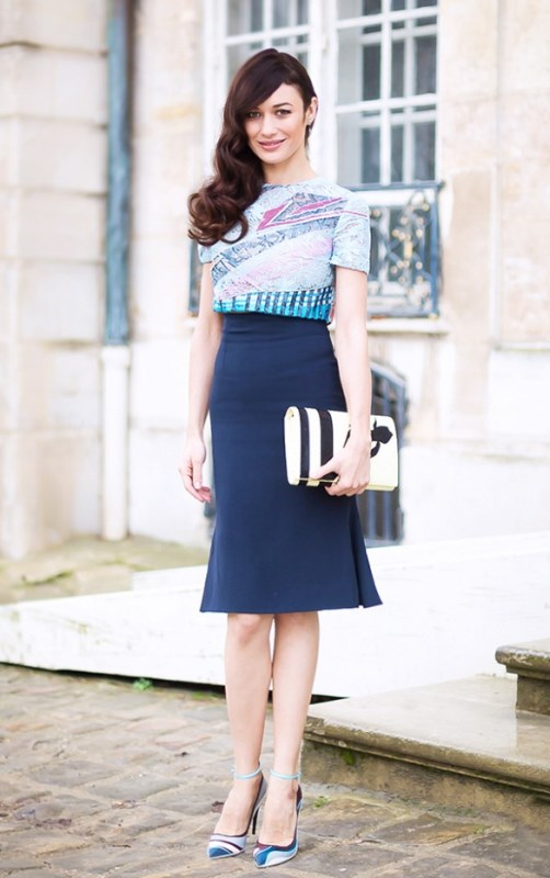 Picture Of not boring chic and ladylike classic work attire  1