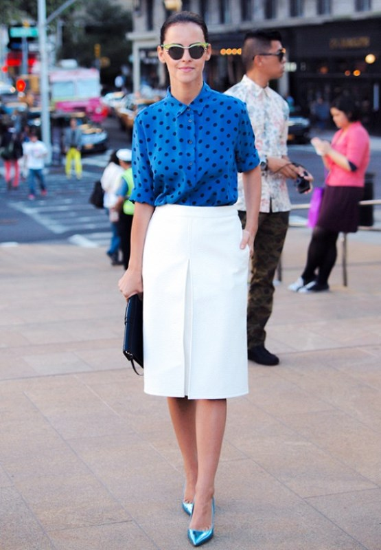 Picture Of not boring chic and ladylike classic work attire  18