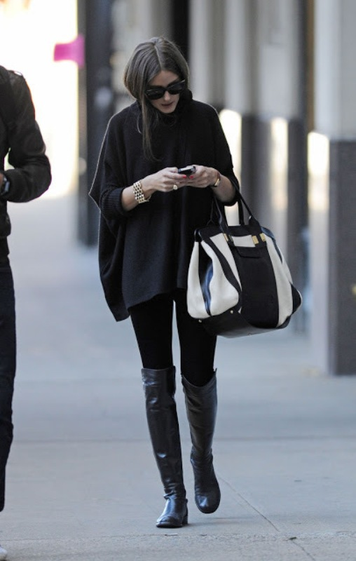 Picture Of trendy total black looks to get inspired  24