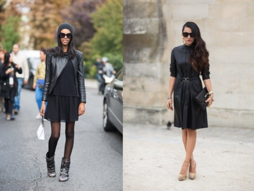 Trendy Total Black Women Looks To Get Inspired