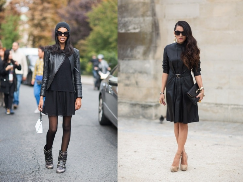 Picture Of trendy total black looks to get inspired  4