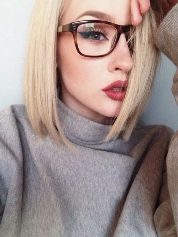 Picture Of 3 smart tricks and 17 stylish makeup ideas for glasses wearers  9