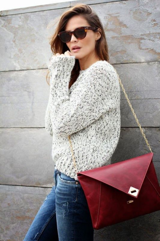 Picture Of 3 tips and 17 cool examples on how to style a statement bag for fall  1