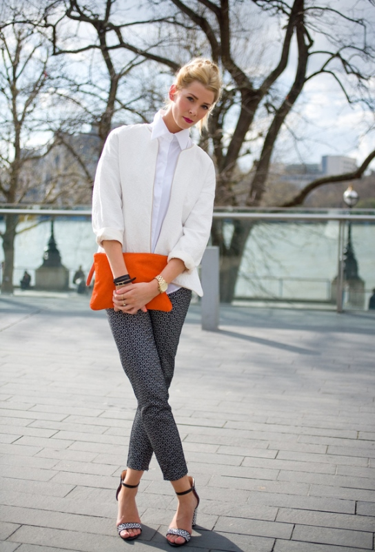 Picture Of 3 tips and 17 cool examples on how to style a statement bag for fall  6