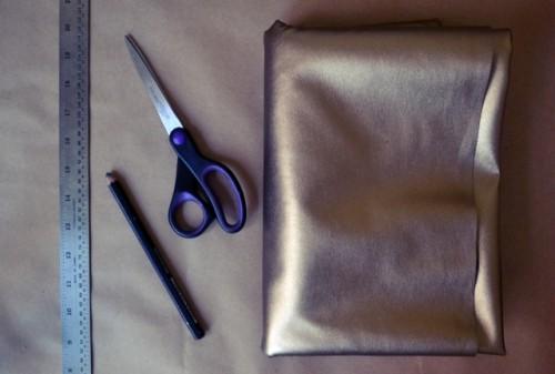 Minute DIY Glamorous Tote To Make