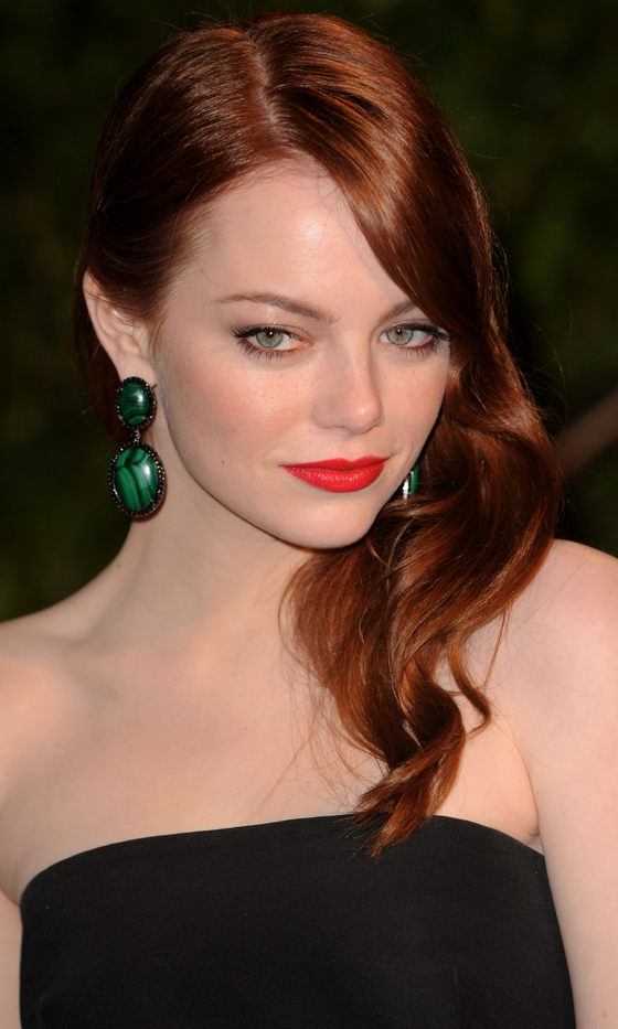 Picture Of red celebrities hairstyles to get some inspiration  1