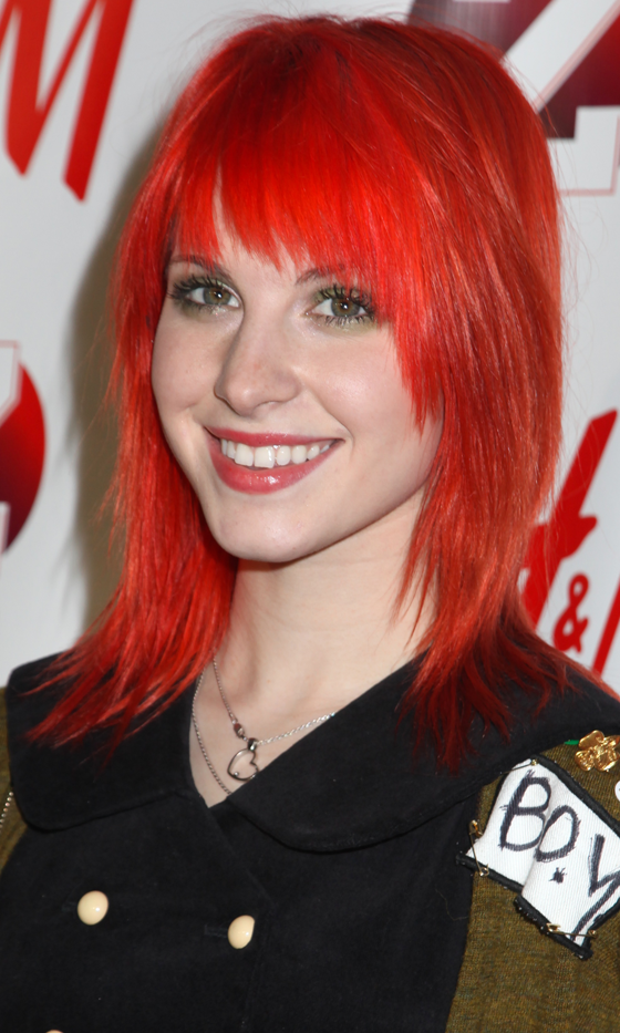 Picture Of red celebrities hairstyles to get some inspiration  15