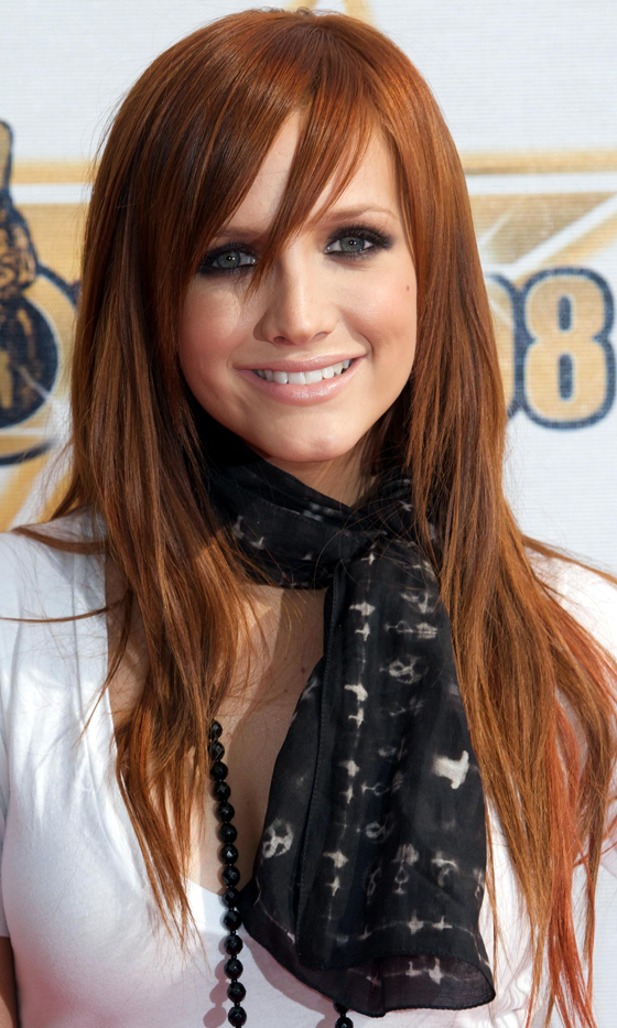Picture Of red celebrities hairstyles to get some inspiration  17