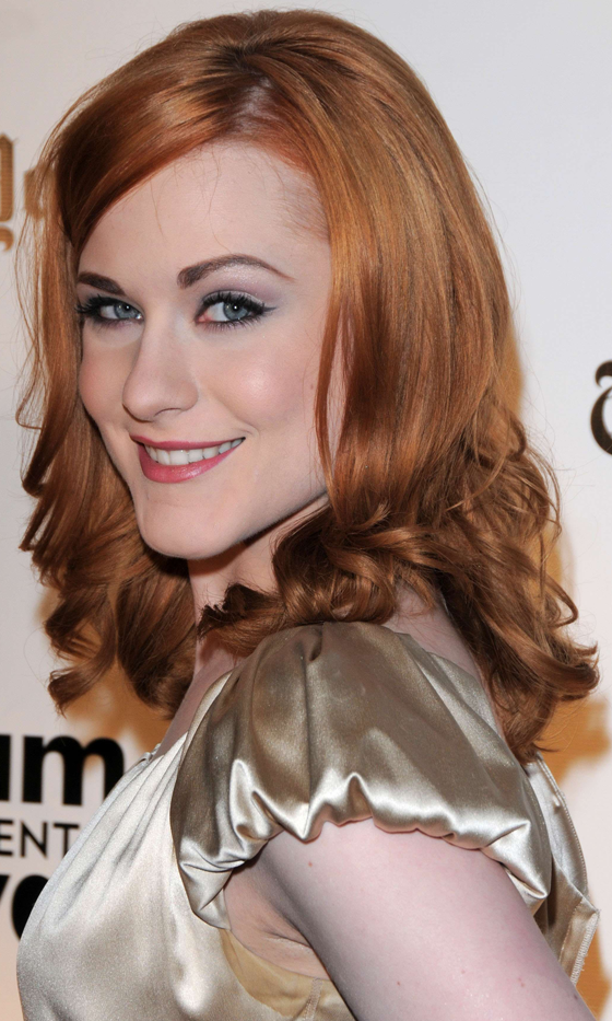 Picture Of red celebrities hairstyles to get some inspiration  19