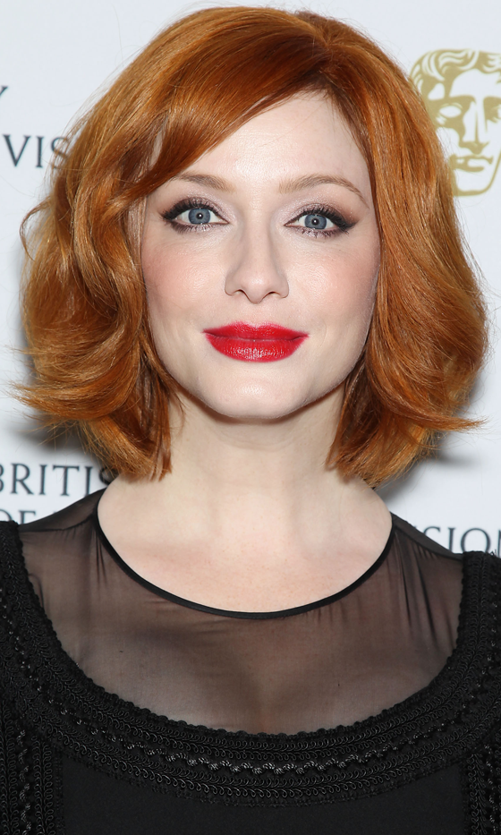 Picture Of red celebrities hairstyles to get some inspiration  2