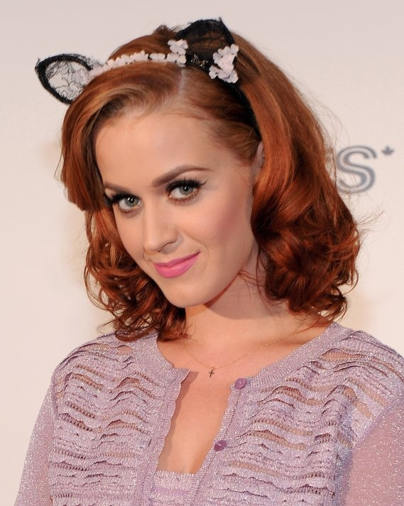 Picture Of red celebrities hairstyles to get some inspiration  29