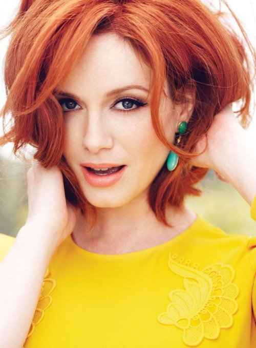 CHRISTINA HENDRICKS in Flare Magazine, May 2013 Issue
