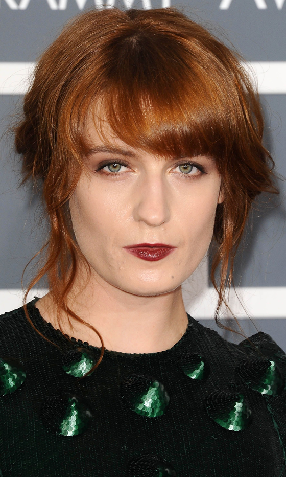 Picture Of red celebrities hairstyles to get some inspiration  5